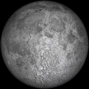 Bulan Purnama atau Full Moon.