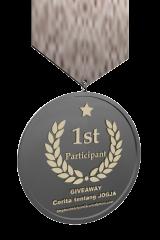 Award untuk Peserta Pertama.