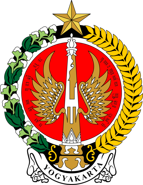 """Golong-Gilig"", Lambang Daerah Istimewa Yogyakarta (Seal of Yogyakarta Special Administrative Region)."