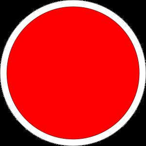 """Lingkaran 'Golong' bewarna merah-putih"" bermakna ""Persatuan Indonesia""."