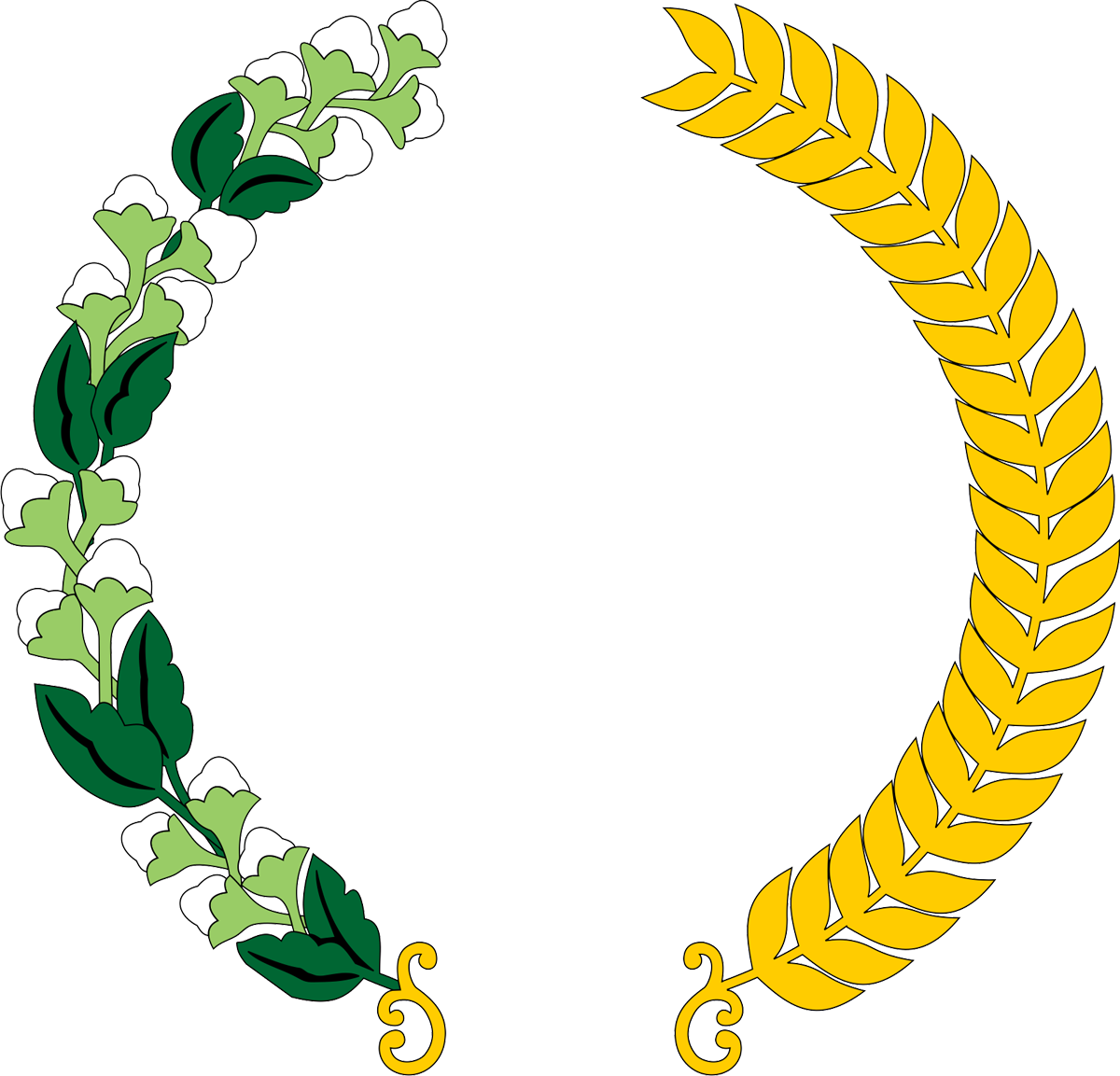 Gambar Logo Padi Emas