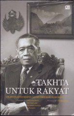 "Buku ""Takhta untuk Rakyat""."