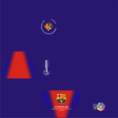 "Material map cangkir ""Home"" FC Barcelona."