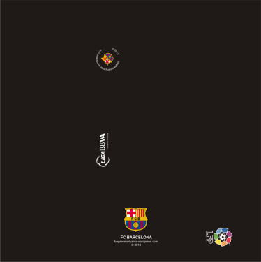 "Material map cangkir ""Alternative"" FC Barcelona."