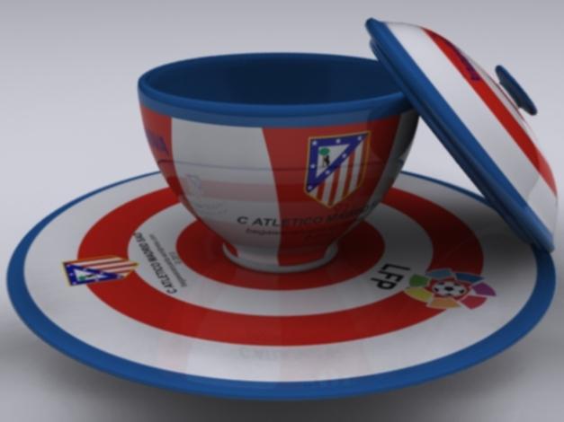 "Cangkir ""Home"" Atletico Madrid SAD."
