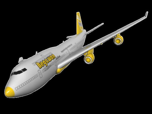 Pesawat 'begawan airlnes' :D
