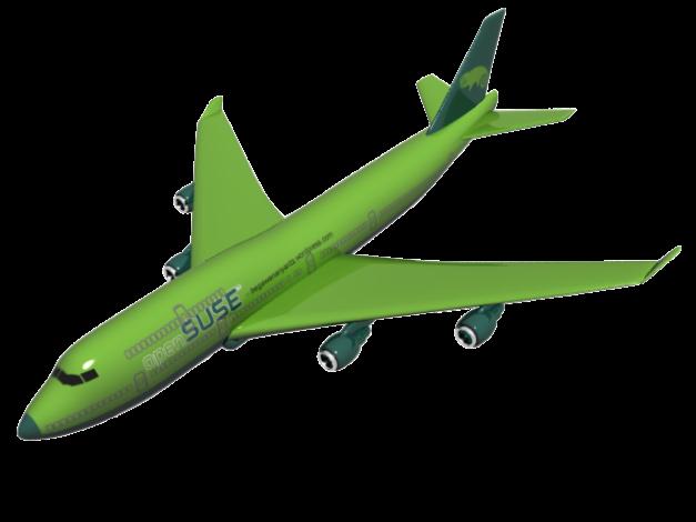 Pesawat 'openSUSE'