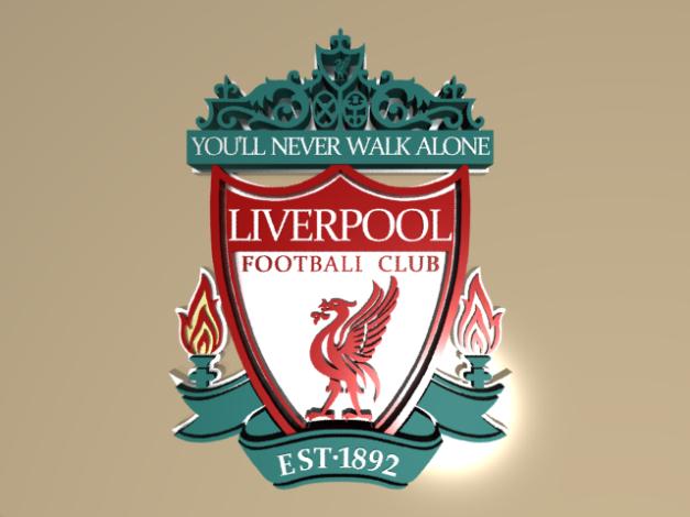 Logo Liverpool FC versi 3D