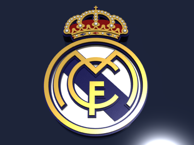 Logo Real Madrid CF versi 3D