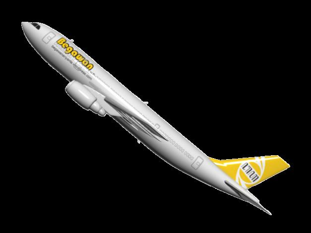 Pesawat 'Begawan Airlines'