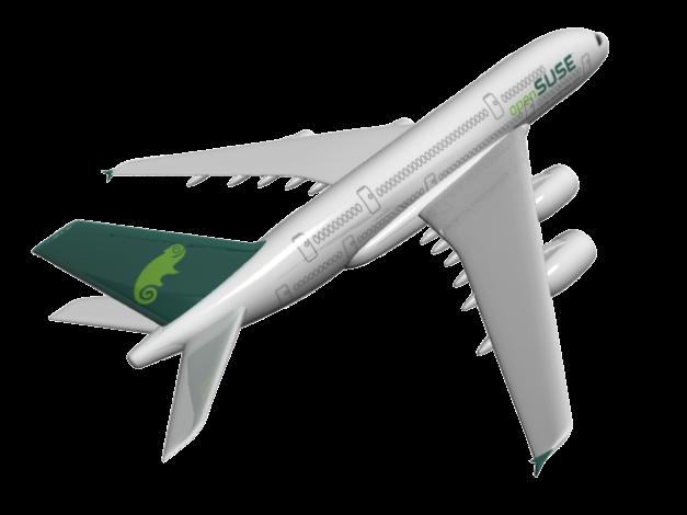 Pesawat 'Open SUSE'