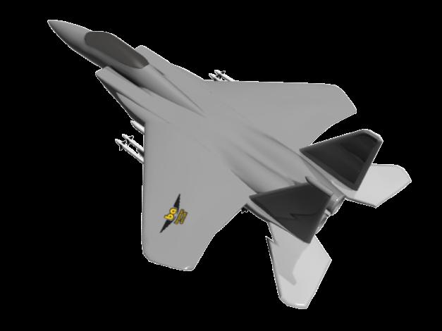 F15 Eagle 'begawan aircraf'